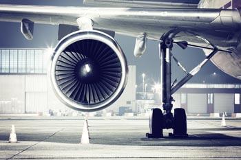 flugzeug turbinen